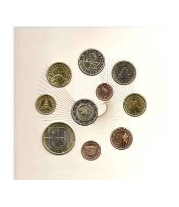 Cartera oficial euroset Eslovenia 2010 (incluye 2 y 3 euros)  - 2