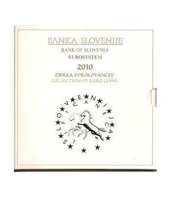 Cartera oficial euroset Eslovenia 2010 (incluye 2 y 3 euros)  - 1