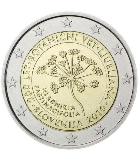 moneda conmemorativa 2 euros Eslovenia 2010.  - 2