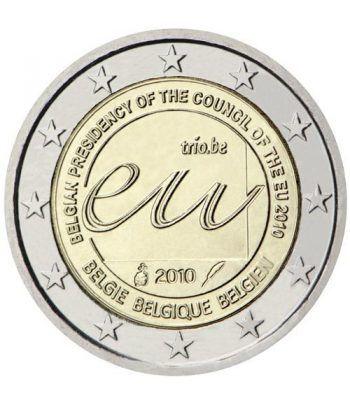 moneda conmemorativa 2 euros Belgica 2010.  - 2