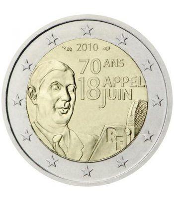 moneda conmemorativa 2 euros Francia 2010.  - 2