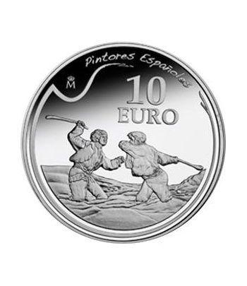 """Moneda 2010 Goya """"Duelo a garrotazos"""" 10 euros. Plata.  - 1"""