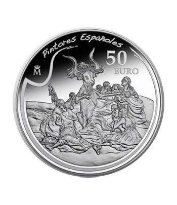 "Moneda 2010 Goya ""Un garrochista"" 50 euros. Plata.  - 1"