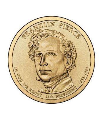 E.E.U.U. 1$ (2010) 14º Presidencial Franklin Pierce. Ceca D  - 2