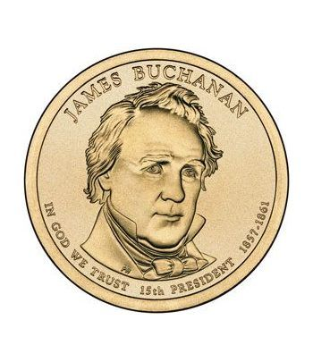 E.E.U.U. 1$ (2010) 15º Presidencial James Buchanan (2cecas)  - 2