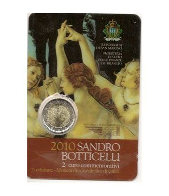 moneda conmemorativa 2 euros San Marino 2010. Est. Oficial  - 2