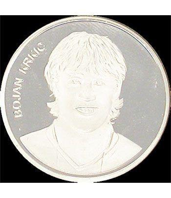 Medalla F.C. Barcelona (Bojan Krkic) niquel.  - 1
