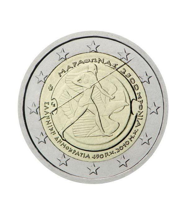 moneda conmemorativa 2 euros Grecia 2010.  - 2