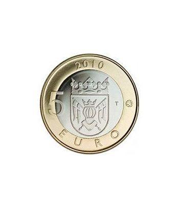 moneda Finlandia 5 Euros 2010 (1ª) Finlandia Sur-Oeste.  - 1