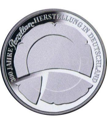 moneda Alemania 10 Euros 2010 F. Porcelana.  - 1