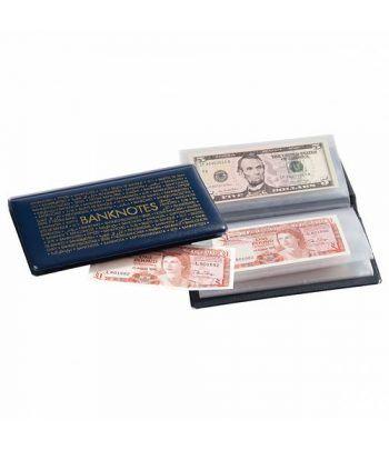 LEUCHTTURM Album de bolsillo para billetes de Banco 182x92. Album billetes - 2