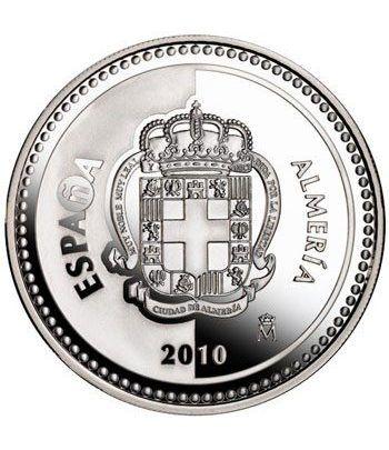 Moneda 2010 Capitales de provincia. Almeria. 5 euros. Plata  - 1
