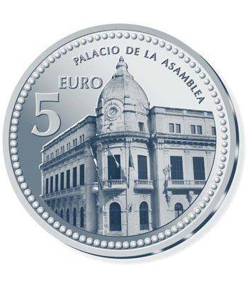 Moneda 2010 Capitales de provincia. Ceuta. 5 euros. Plata  - 2
