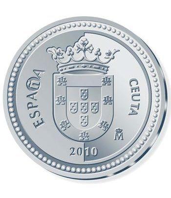 Moneda 2010 Capitales de provincia. Ceuta. 5 euros. Plata  - 4