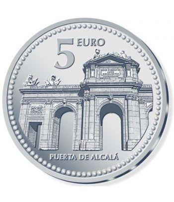 Moneda 2010 Capitales de provincia. Madrid. 5 euros. Plata  - 2