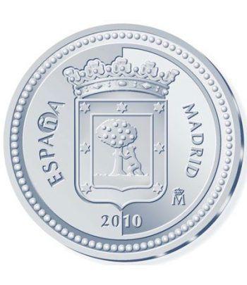 Moneda 2010 Capitales de provincia. Madrid. 5 euros. Plata  - 4
