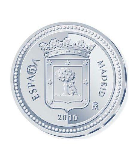 Moneda 2010 Capitales de provincia. Madrid. 5 euros. Plata  - 1