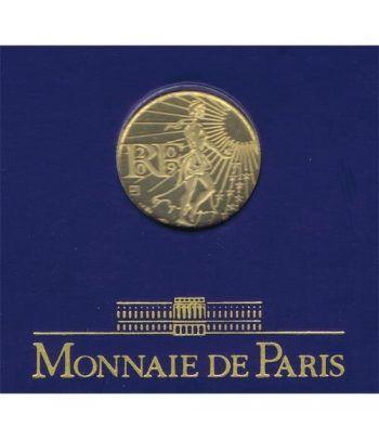Moneda de oro Francia 100 euros 2009  - 2