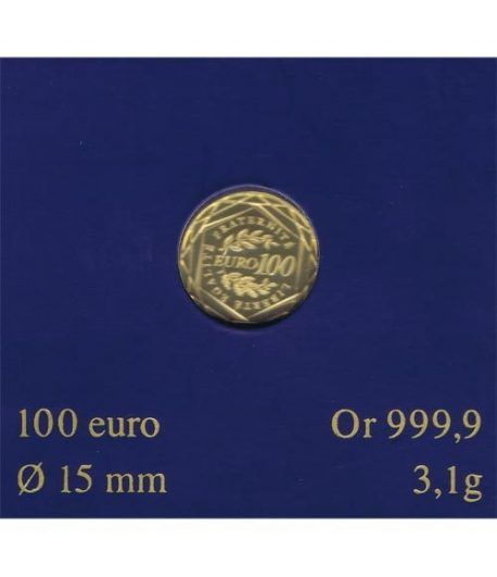 Moneda de oro Francia 100 euros 2009  - 1