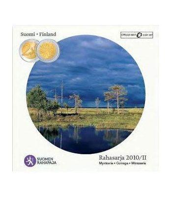 Cartera oficial euroset Finlandia 2010 2ª (incluye moneda 2€)  - 2