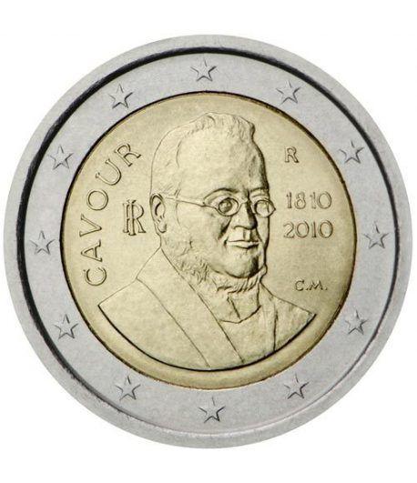 moneda conmemorativa 2 euros Italia 2010.  - 2