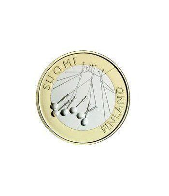 moneda Finlandia 5 Euros 2010 (2ª) Sakatunka.  - 2