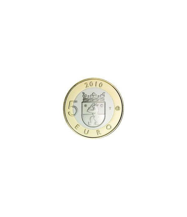moneda Finlandia 5 Euros 2010 (2ª) Sakatunka.  - 1