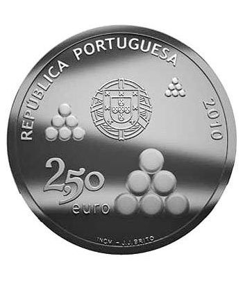Portugal 2.5 Euros 2010 200 Aº Lineas de Torres Vedras.  - 4