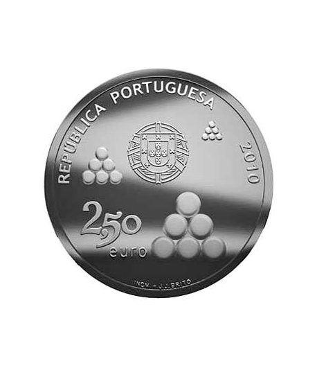 Portugal 2.5 Euros 2010 200 Aº Lineas de Torres Vedras.  - 1