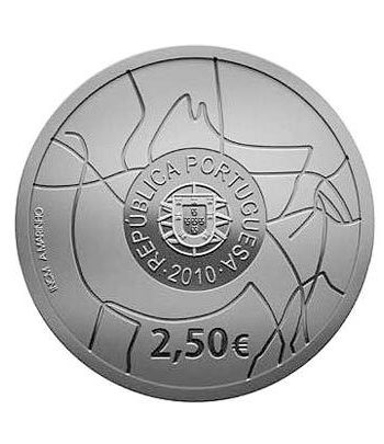 Portugal 2.5 Euros 2010 UNESCO. Valle del Coa. Cuproníquel  - 1