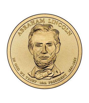 E.E.U.U. 1$ (2010) 16º Presidencial Abraham Lincoln (2cecas)  - 2