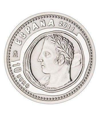 Moneda 2011 Joyas Numismaticas 3ª serie. Shekel. 10 euros plata.  - 1