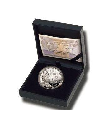 Moneda 2011 Exploradores Fco. de Orellana. 10 euros. Plata.  - 2