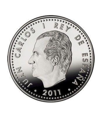 Moneda 2011 Exploradores Fco. de Orellana. 10 euros. Plata.  - 6