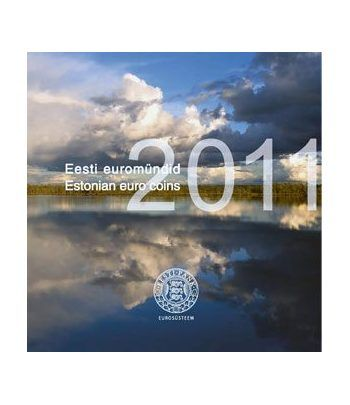 Cartera euroset oficial Estonia 2011  - 1