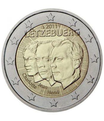 moneda conmemorativa 2 euros Luxemburgo 2011.  - 2