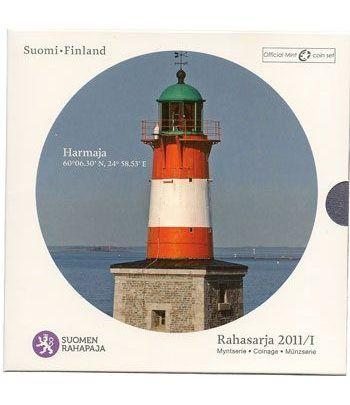 Cartera oficial euroset Finlandia 2011.  - 2
