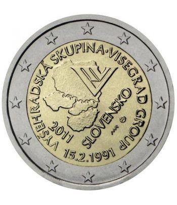 moneda conmemorativa 2 euros Eslovaquia 2011.  - 2