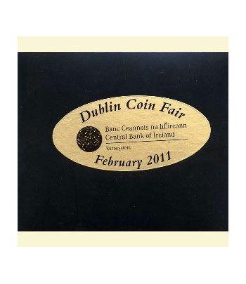 Cartera oficial euroset Irlanda 2011 (Dublin Coin Fair)  - 2