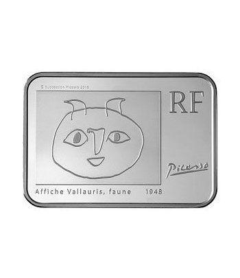 Francia 10 € 2010 Pablo Picasso. Plata Proof.  - 2
