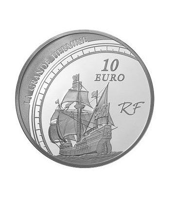 Francia 10 € 2011 Jacques Cartier. Barco  - 1