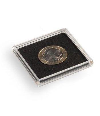 LEUCHTTURM Capsulas QUADRUM 24mm. (10) . Capsulas Monedas - 1