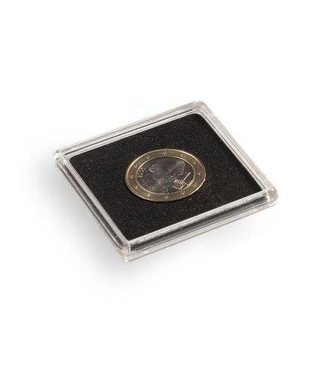 LEUCHTTURM Capsulas QUADRUM 30mm. (10) . Capsulas Monedas - 1