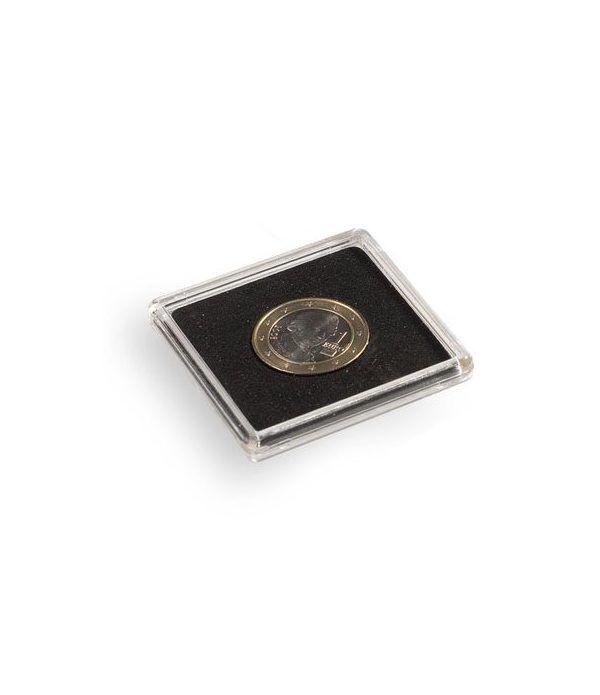 LEUCHTTURM Capsulas QUADRUM 36mm. (10) . Estuche Monedas - 1