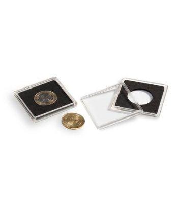 LEUCHTTURM Capsulas QUADRUM 40mm. (10) . Estuche Monedas - 2