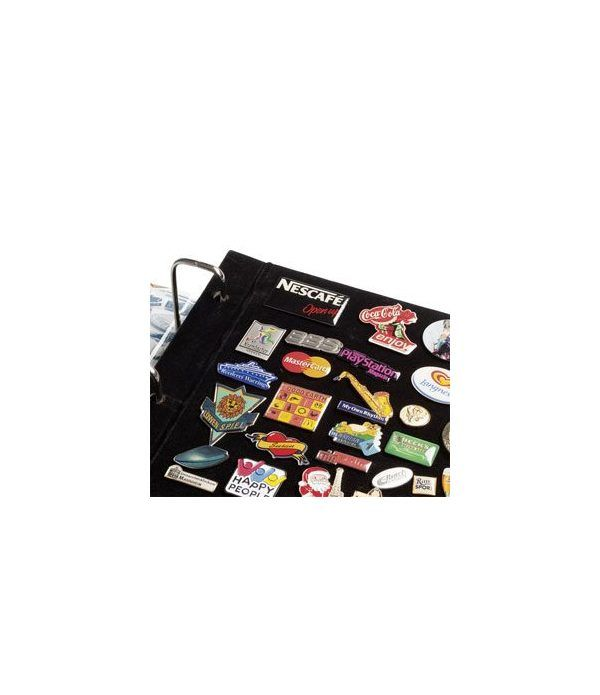 LEUCHTTURM. 4 Hojas complementarias para el Album Pins. Album varios - 1
