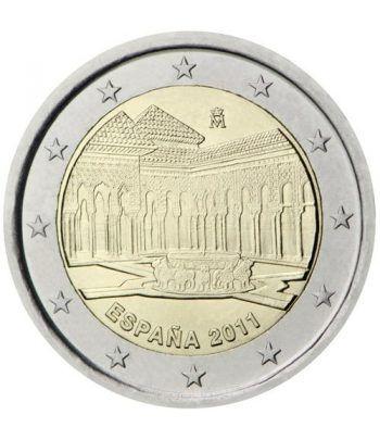 moneda conmemorativa 2 euros España 2011 Alhambra.  - 2
