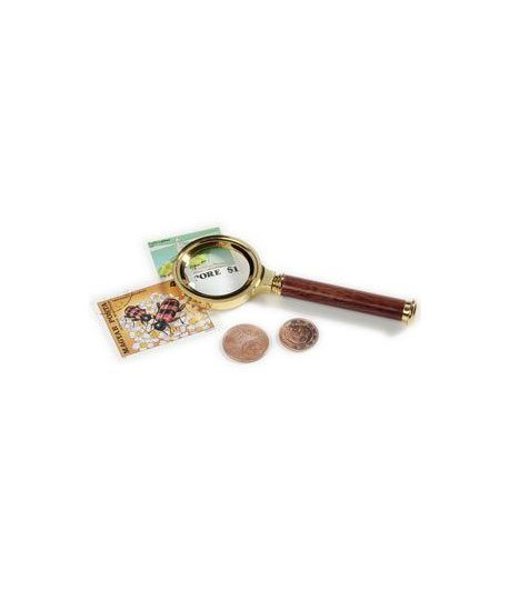 LEUCHTTURM Lupa mango madera rosal 30 mm. 5 aumentos Lupas - 2