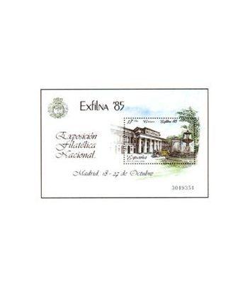 2814 Exposición Filatélica Nacional EXFILNA 85  - 2