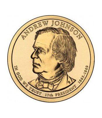 E.E.U.U. 1$ (2011) 17º Presidencial Andrew Johnson (2cecas)  - 2